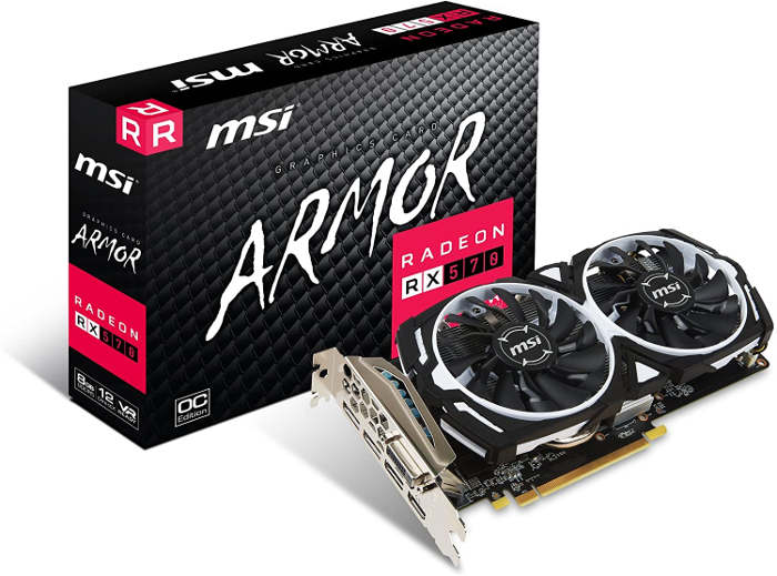 MSI Radeon RX570アーマー8gocドライバー