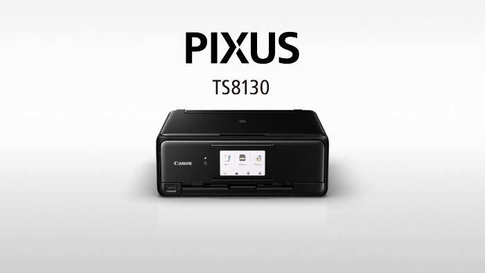 Canon Pixus TS8130ドライバーのダウンロード