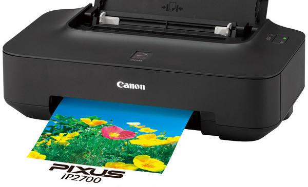 Canon Pixus iP2700ドライバーのダウンロード