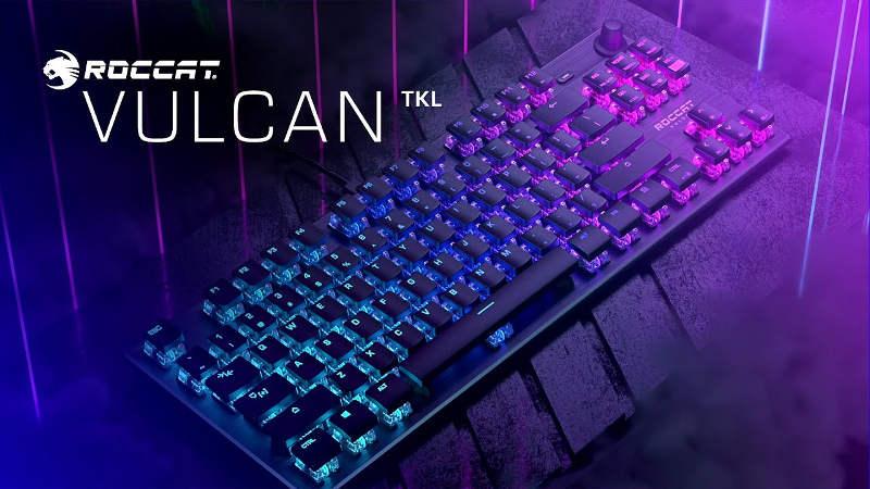 Roccat Vulcan TKLドライバーダウンロード+インストールガイド